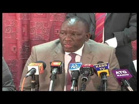 Joseph Nkaissery Oo Sheegay Inuu Ka Hor Tagi Doono Weerarada Al-shabaab Ee Dalka Kenya