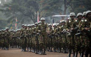 Kenyan-army