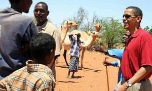 US Senator Barack Obama tours Kenya's no